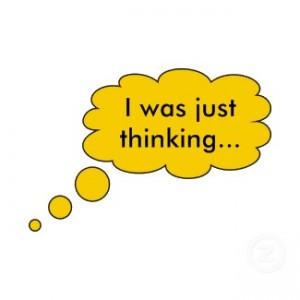 just thinking